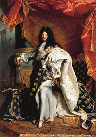 Louis XIV dies