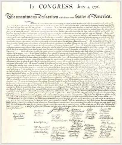 Delaration of Independence