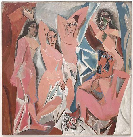 Pablo Picasso's Les Demoiselles d'Avignon (1907)