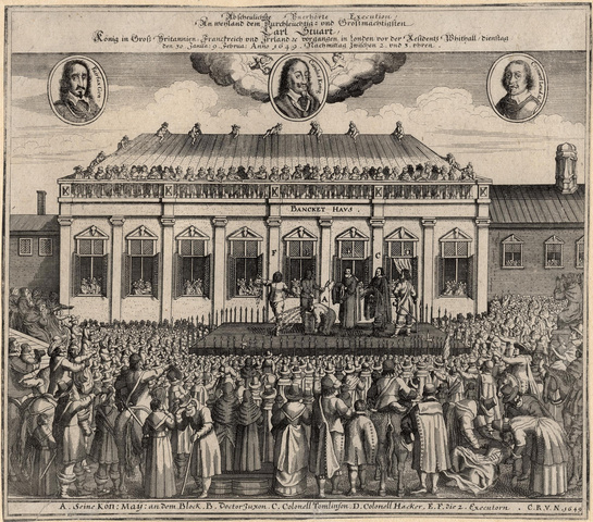 Charles I Overthrown