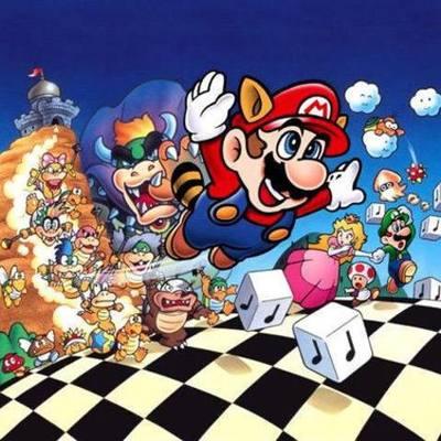 History of Mario Music timeline