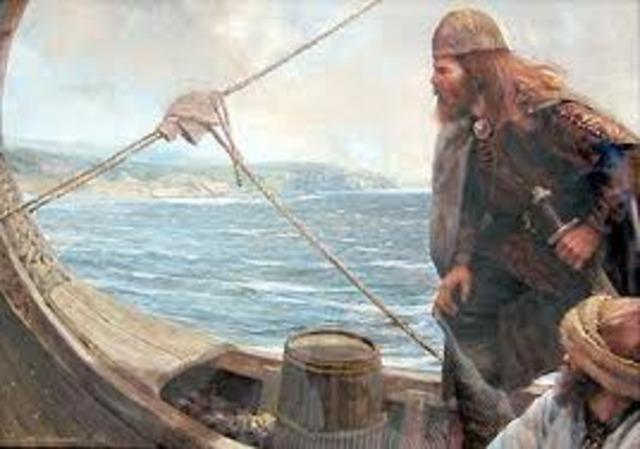 Vikings arrive on Greenland
