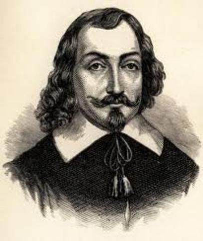 Champlain establishes a settlement