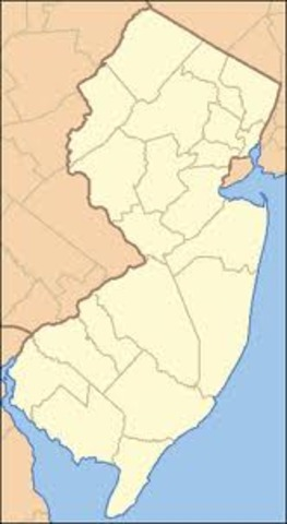 New Jersey was established.