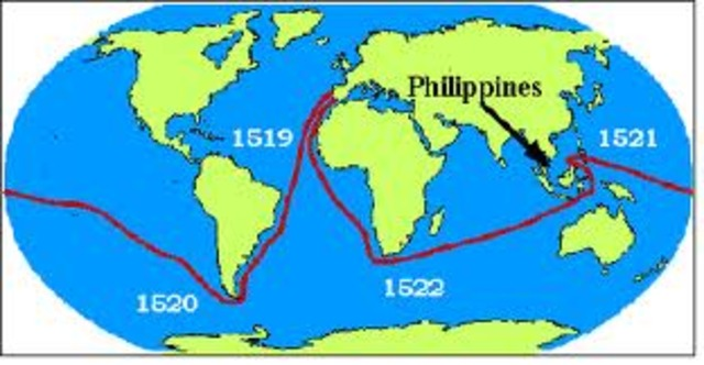 Ferdinand became first to circumnavigate