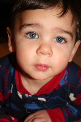 When my little cousin Nicholas was born