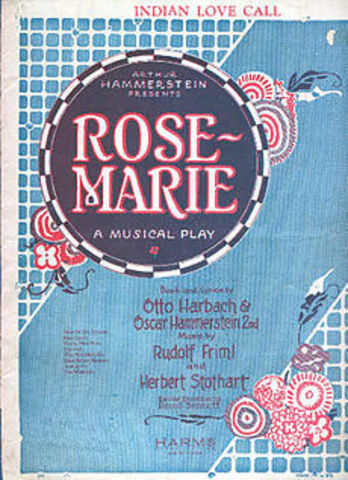 "Hammerstein-Opening of ""Rose-Marie"""
