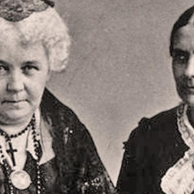 Susan B. Anthony and Elizabeth Cady Stanton timeline