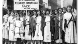 Women's Sufferage timeline