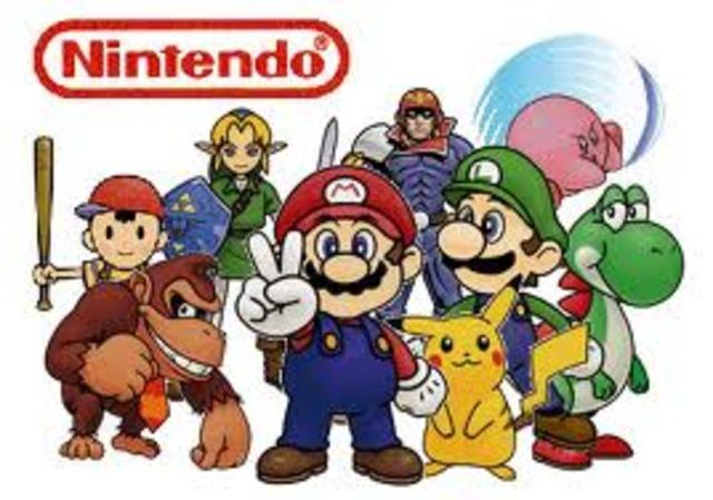 Nintendo is released
