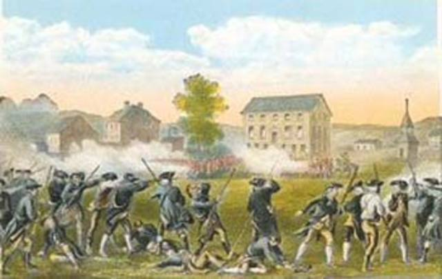 Battle of Lexiton and Concord
