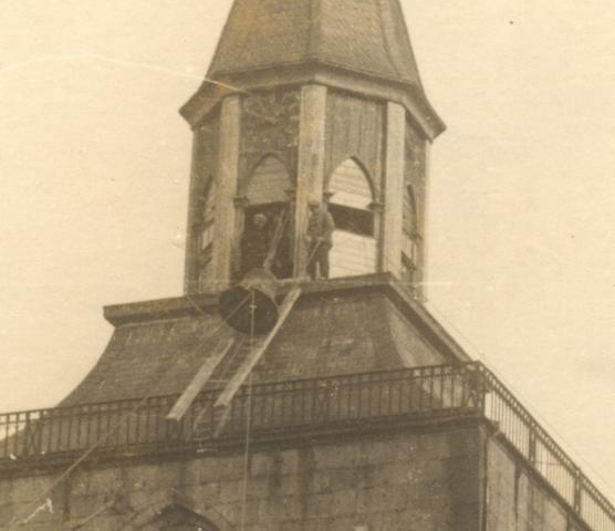 Clocks Roof Rk. church
