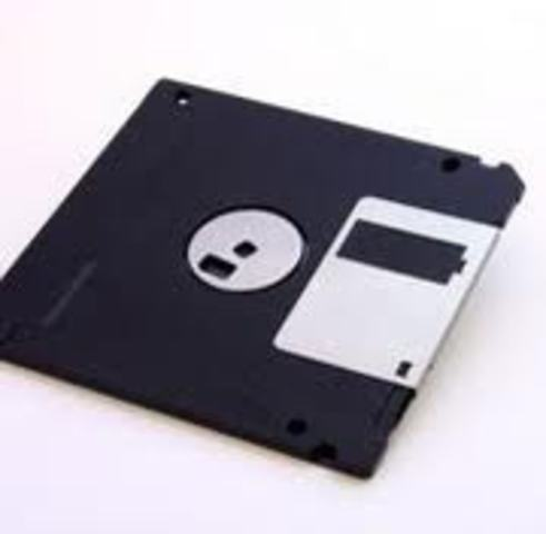 Flopy-disk is developed.