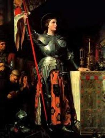 Ejecución de Juana de arcos