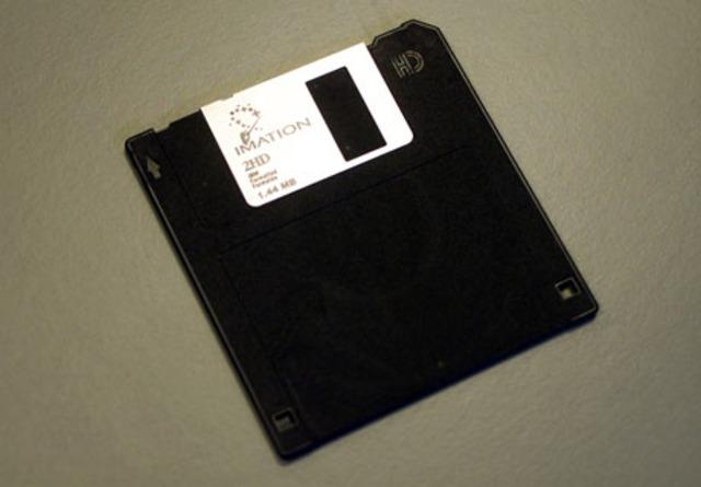 Floppy desk was invented