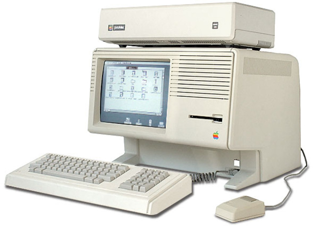 Apple Lisa computer was invented