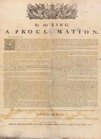 Proclimation of 1763