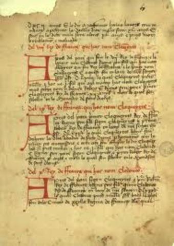 Crònica de Bernat Desclot (1240-1288)