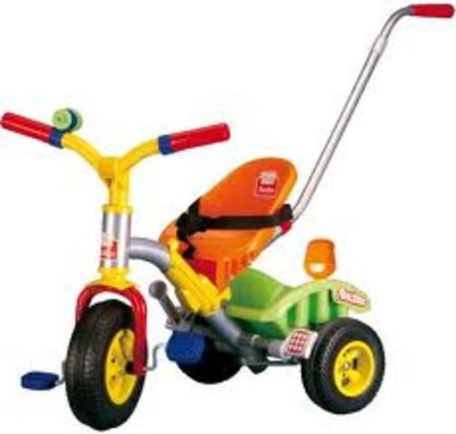 El Triciclo, ya estoy motorizada
