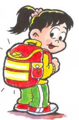 Mi primer dia de colegio