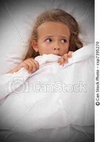 Me da miedo dormir sola