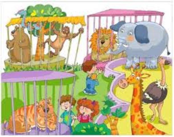 El zoo, me encantan los animales