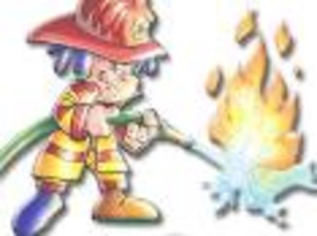 El parque de bomberos