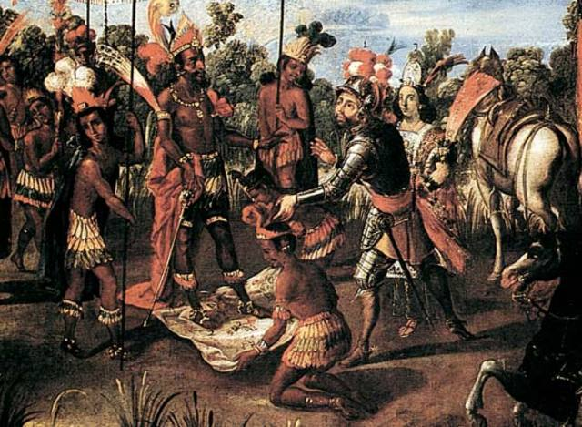 the story of hernan cortes and his conquest That's how the aztecs did things but, in the 1500s, when the spanish conquistador, hernan cortes, entered aztec territory with a small band of his men,.