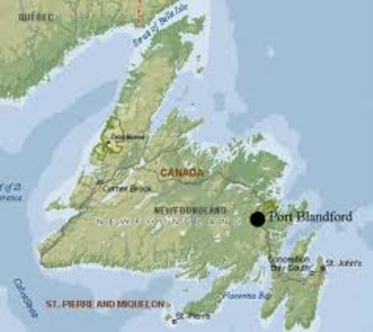 John Cabot explored Newfoundland