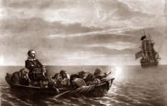 Henry Hudson explored  the Hudson Bay