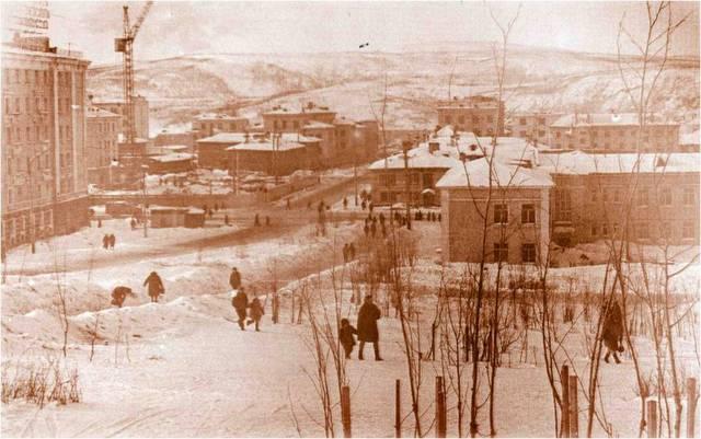 Мурманск 70-х годов