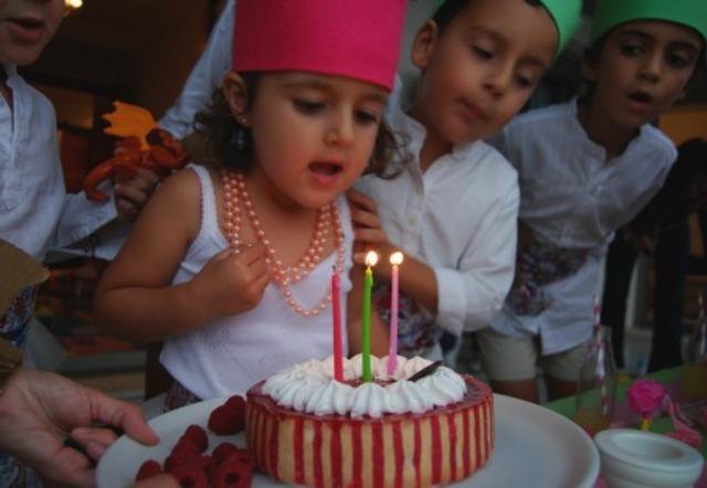 Mi primer cumpleaños en el cole