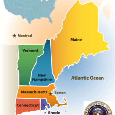Timeline of Presidents born in New England
