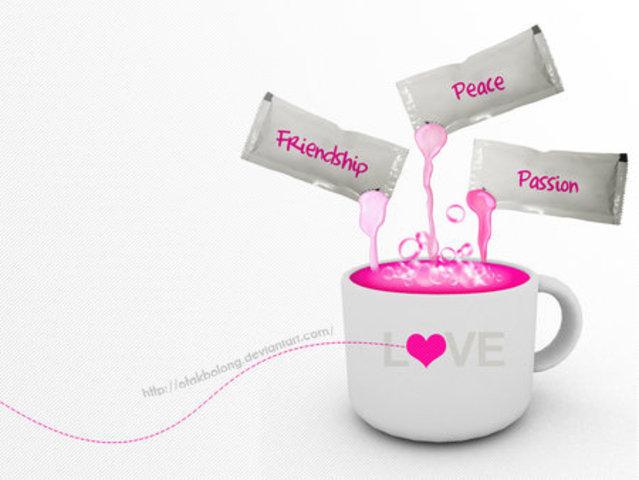 love / friendship