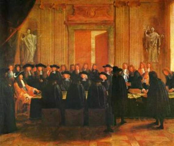 Louis weaken nobles, and strengthen government.