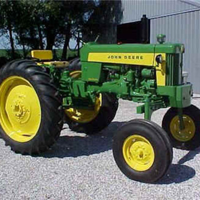Tractors Through History timeline