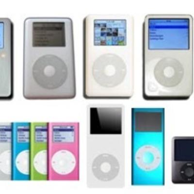 iPod's : Change Over Time timeline