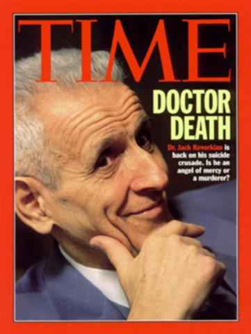 Jack Kevorkian Participates in His First Assisted Suicide