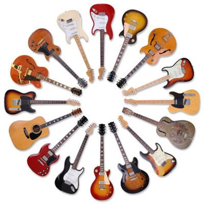 Guitars timeline