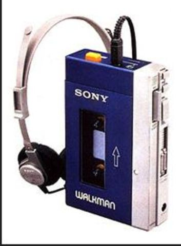 first TPS-L2 Walkman cassette player