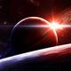 28 20 sunrise in space