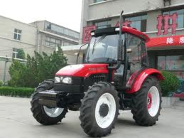 Tractors outnumber horses.