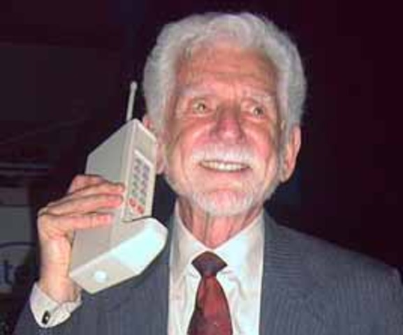 First Handheld Phone