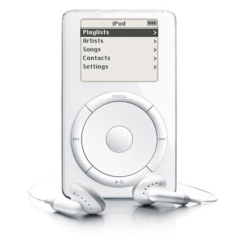 First IPod!