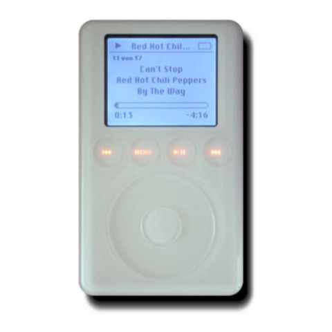 2nd generation iPod created