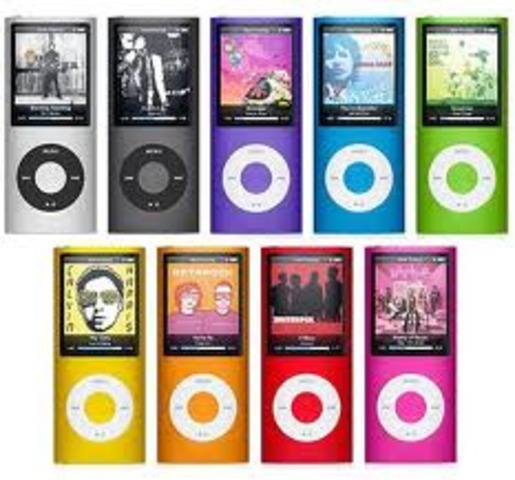 The next couple of IPods....