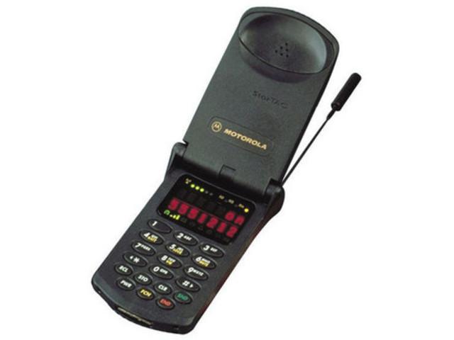 Fist flip phone