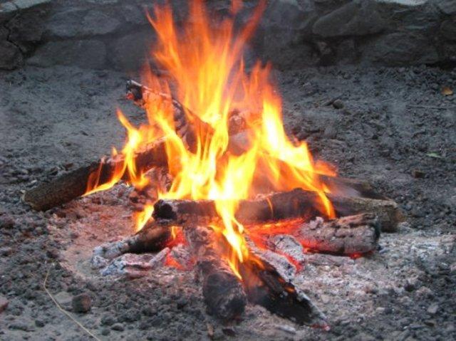 Using fire