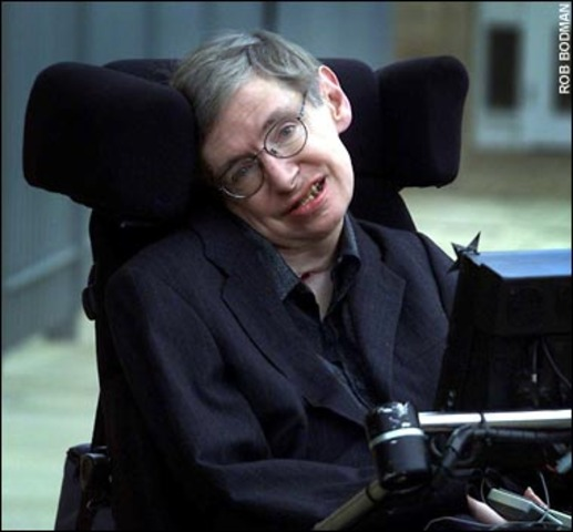 Steven Hawking is born