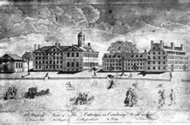 The first college in the English colonies.